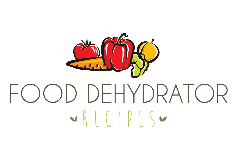 Food dehydrator recipes logo